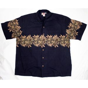 Hilo Hattie Short Sleeve Button Tropical Shirt